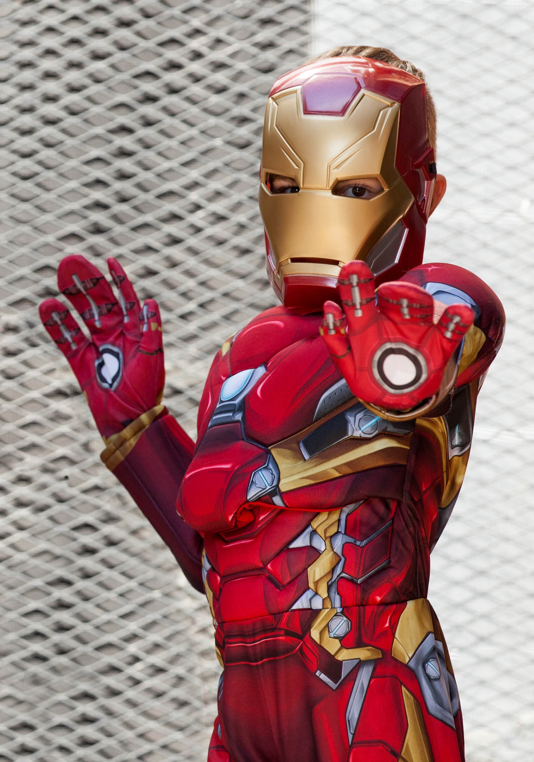 a1883fc2fd8 Disfraz de Iron Man de Civil War para niño deluxe