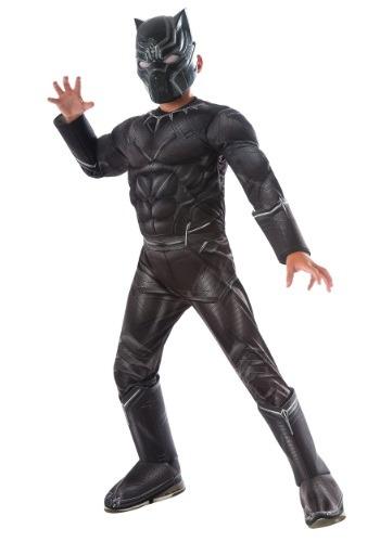 Disfraz Deluxe Black Panther de Civil War para niño