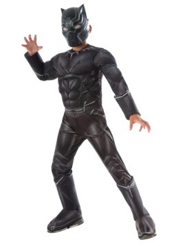 Disfraz Deluxe Black Panther de Civil War para niño