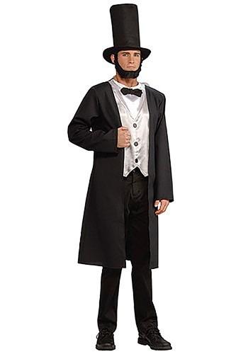 Disfraz de Abraham Lincoln para adulto