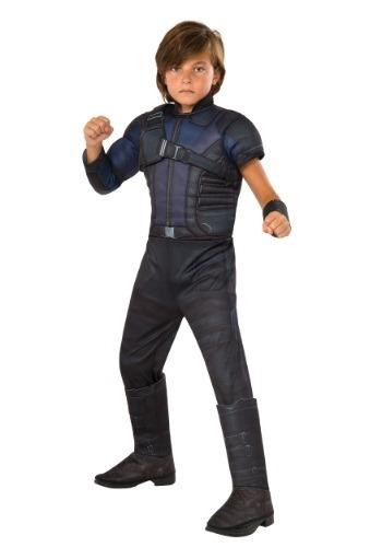 Disfraz de Hawkeye Deluxe de Civil War para niño