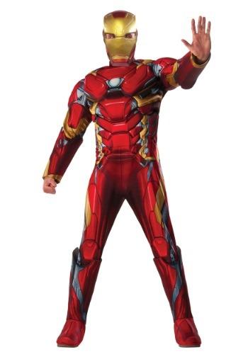 Disfraz de Iron Man Deluxe de Civil War para hombre