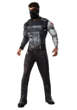 Disfraz de Soldado de Invierno Deluxe de Civil War hombre