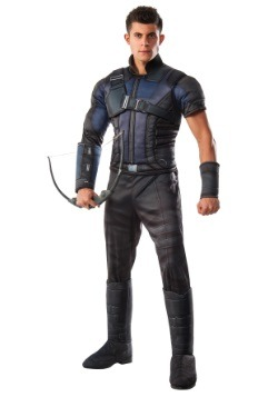 Disfraz de Hawkeye Deluxe de Civil War para hombre