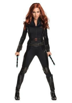 Disfraz de Viuda Negra de la Guerra Civil deluxe para mujer