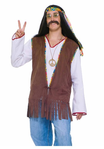 Chaleco hippie para hombre