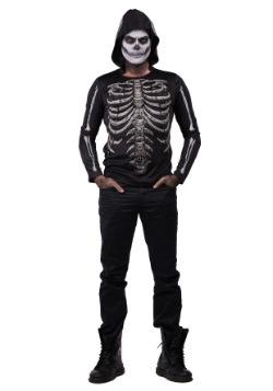Camisa con capucha Bare Bones brilla en la oscuridad hombre