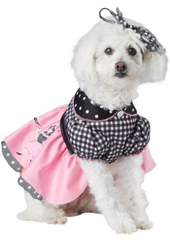 Disfraz con falda de poodle