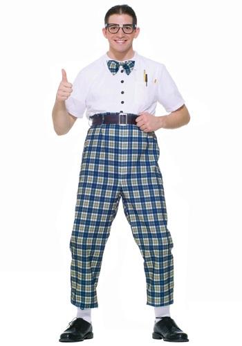 Disfraz de nerd de la clase de los años 50