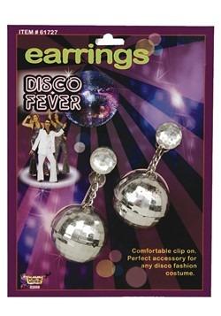 Pendientes de bola disco