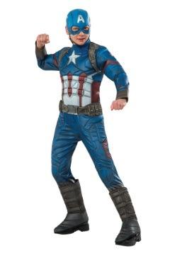 Disfraz del Capitán América de Civil War Elite para niño