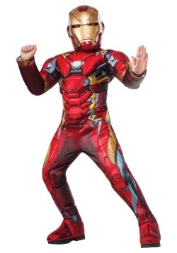Disfraz de Iron Man de Civil War Elite para niño