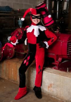 Disfraz mameluco de Harley Quinn para niños