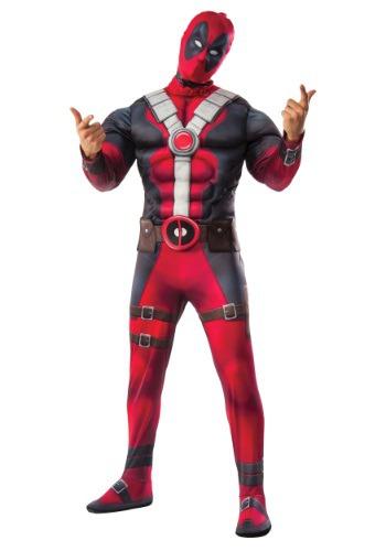 Disfraz de la película de Deadpool Deluxe