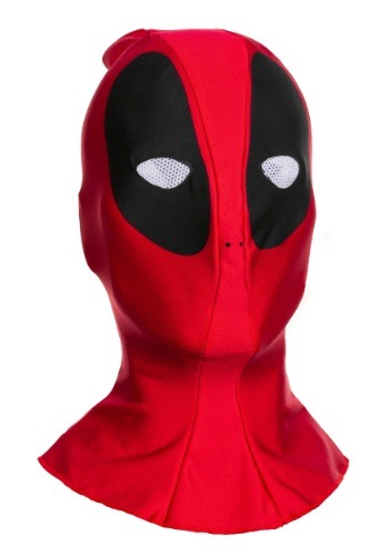 Máscara de tela de Deadpool para adulto