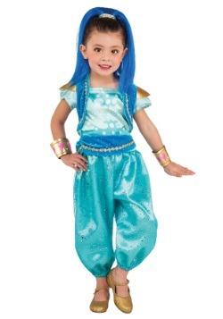 Disfraz brillante deluxe para niñas