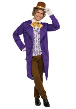 Disfraz de Willy Wonka deluxe para hombre