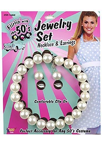 Set de joyas de disfraz de los 50