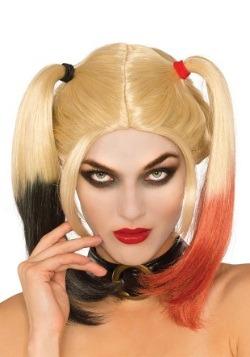 Peluca Deluxe Harley Quinn para mujer