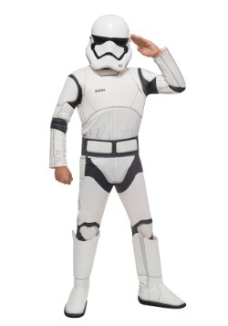 Star Wars The Force Awakens Deluxe Niño Stormtrooper