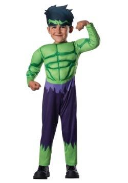Disfraz de Hulk Deluxe para niños pequeños