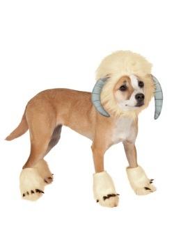 Disfraz de mascotas Wampa de la Guerra de las Galaxias