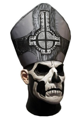 Máscara de Papa II fantasma para adulto