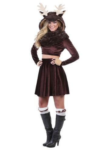 Disfraz para mujer de alce