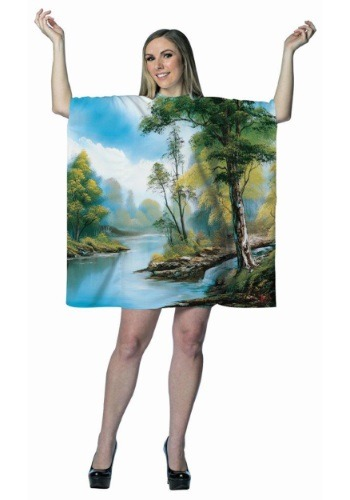 Vestido de pintura de Bob Ross para adulto