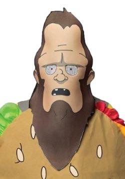 Máscara de gene de hamburguesas adultas Bob's