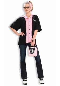 Camisa de boliche Queen Pins
