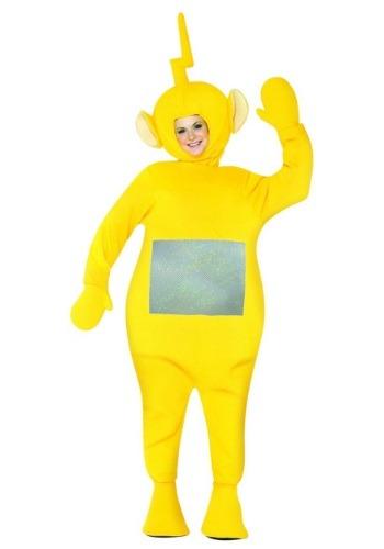 Disfraz de Teletubbies Laa-Laa para adulto