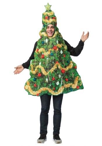 Disfraz de árbol de Navidad para adulto