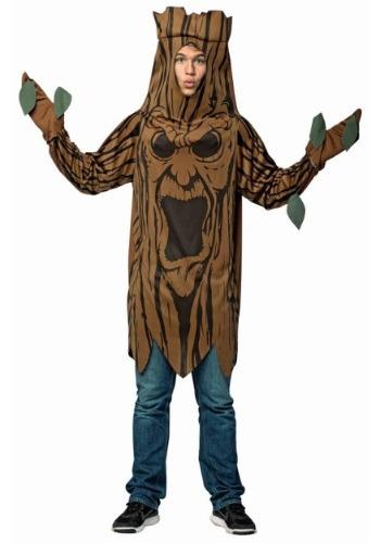 Disfraz de árbol de miedo