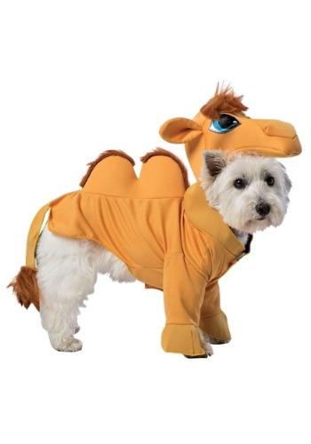Disfraz de camello para perro