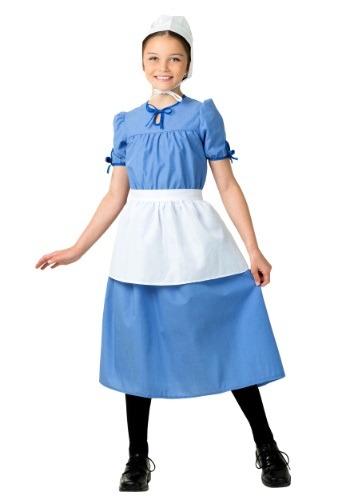 Disfraz de chica de la pradera Amish