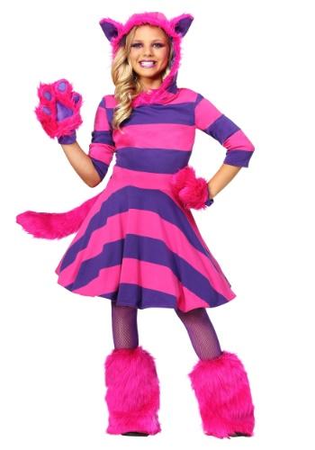 Disfraz de Gato Cheshire para niñas
