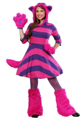 Disfraz de Cheshire Cat Plus Size para mujer