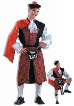 Disfraz de Qué hay bajo la falda escocesa