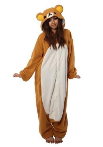 Disfraz de pijama Rilakkuma Kigurumi para adulto