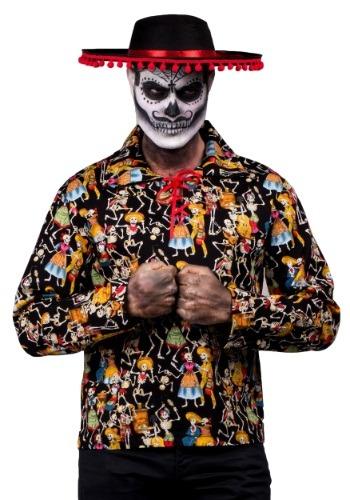 Camisa de fiesta del hombre muerto
