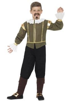 Disfraz infantil de Shakespeare