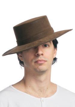 Cuero como el sombrero español
