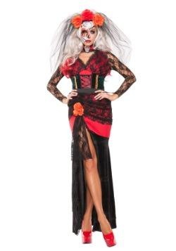 Disfraz de Lindura del Día de Muertos para mujer
