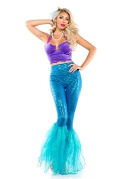 Disfraz de sirena de fantasía para mujer