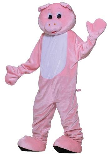 Disfraz de cerdo mascota deluxe