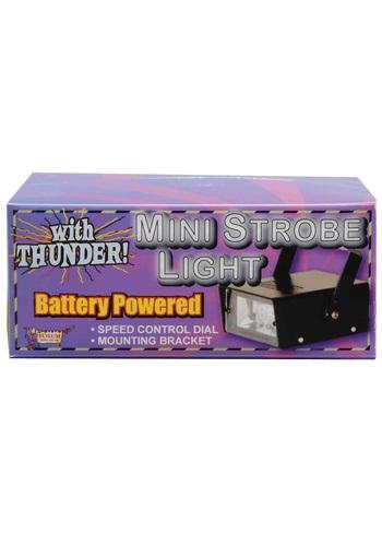 Mini luz estroboscópica LED con trueno