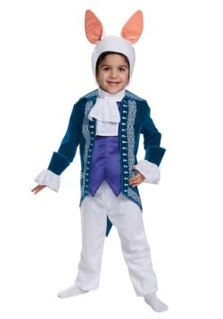Disfraz de conejo blanco deluxe para niños pequeños