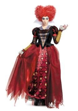 Disfraz de Reina de Corazones deluxe para adulto