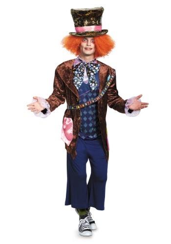 Disfraz de Sombrerero Loco deluxe para adulto